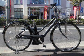 通勤・通学や長距離走行に最適な電動アシスト車 ヤマハ PAS CITY-SP5