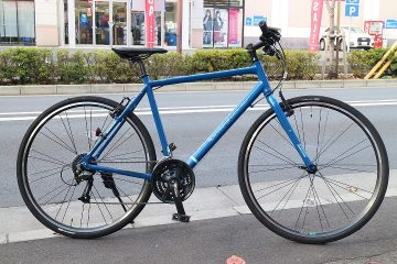 色々揃っててオススメ♪ブリヂストンのクロスバイク シルヴァF24