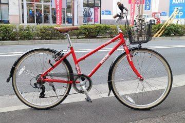 女性に人気です♪街乗りに最適!オシャレなクロスバイク GIOS リーベ