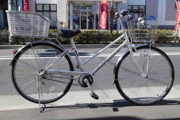 フル装備で実用的!丈夫な自転車 ミヤタ スタークラブ ベルト