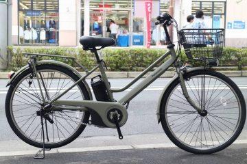 スタイリッシュでタフな電動アシスト自転車 パナソニック ティモ・S