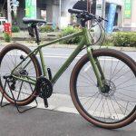 チョイ太タイヤが魅力的なクロスバイク! ジャイアント グラビエディスク 入荷しました!