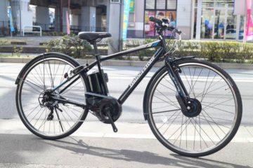 通勤・通学にオススメ♪電動クロスバイク TB1e